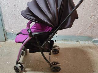 Складная детская коляска.500 лей