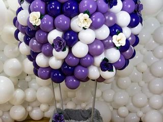 Decor din baloane -  magazin 24/24 , livrare