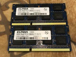 2Gb 4Gb 8Gb для ноутбука SoDimm DDR3 1333-1600Mhz Гарантия 6 мес!