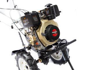 Motoblocuri  Motobloc diesel si benzina 6-7-10-12-15 cai ! remorci ! garantie 2 ani