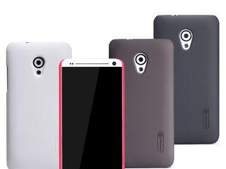 HTC Desire 700 чехол Nillkin Frosted Shield + защитная плёнка