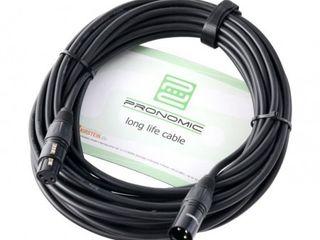 Cablu de microfon  Pronomic Stage XFXM-10