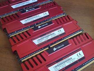 16GB DDR3 1600Mhz Corsair Red