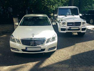 Mercedes-Benz albe/negre - 85 €/zi (день)