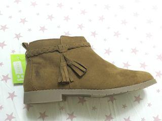 Детские ботиночки, для девочки, новые фирма crazy 8, размер 34