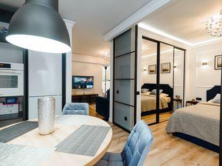 Nou! Centru! De vinzare apartament de lux, 1 dormitor+living,Eldorado Terra Viaduct