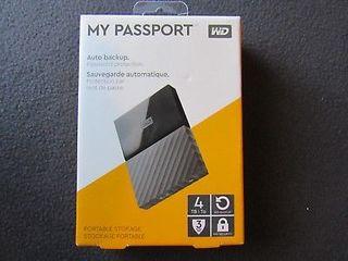 HDD Extern WD My Passport New 4TB USB 3.0 2.5 inch Black