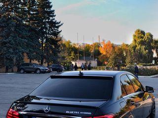 VIP Taxi Mercedes-uri : Chirie cu sofer - de la 10 €/ora! /Аренда с водителем - Мерседесы от 10€/час