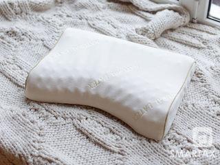Массажные ортопедические подушки для шейного отдела. 100% латекс. Для мужчин и женщин!