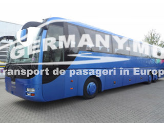 Franta, Portugalia, Spania, Marea Britanie (Anglia) etc. Transport de pasageri.