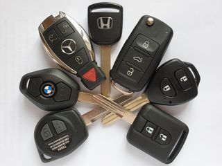 Chei auto cu cip. Reparatie, dublicate, alarma. Чип ключ, сигнализаций,  вскрытие авто. Диагностика.