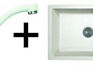 Set robinet Nota DG si chiuveta Techno 860. Brand (dr.Gans). Direct de la importator. Garantie.