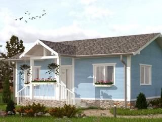 Дом для молодой семьи по технологии строительства из СИП (SIP) панелей.