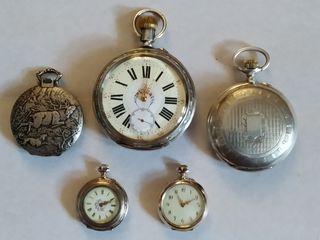 Часы. Серебро.