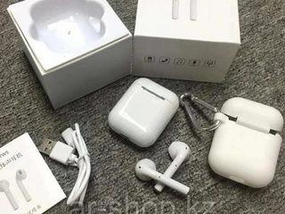 Wireless earphone Screen Geeks I9S button, alb