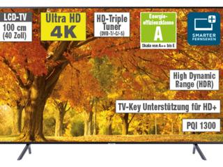 5999 Lei 102cm Samsung UE40NU7100 4k ultra hd Led 1300hz PQI SmartTV, WiFi, garantie 2ani + подарки