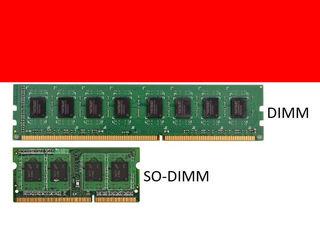 RAM DIMM & SO-DIMM DDR2, DDR3, DDR3 ECC, DDR4 - 4 GB, 8 GB, 16 GB - доставка, установка - 5