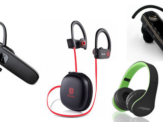 Bluetooth наушник, FM  модулятор, блютуз casca