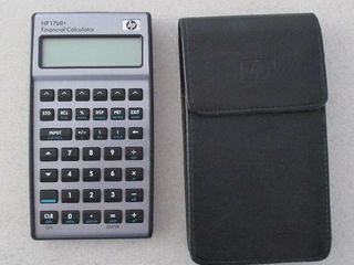 Финансовый калькулятор HP 17bII+