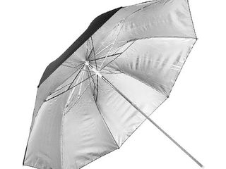 Зонт  серебристый