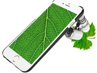 Лупа с прищепкой для телефона увеличение в 60 раз!
