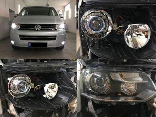 Lupe Bi-LED. Becuri Auto. Instalarea
