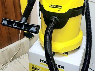 150-75* лей в сутки Аренда хозяйственный пылесос kaercher wd 3 всасывает сухое, жидкости.