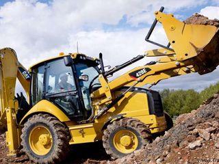 Servicii buldo-excavator / Услуги бульдоэксковатора