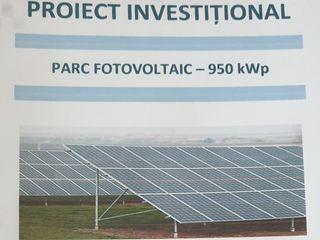Caut investitor în parc fotovoltaic cu garanţie de stat.