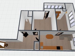 Vatra, 384eu/m2, in rate direct de laconstructor, 2 dorm și living cu bucătărie.