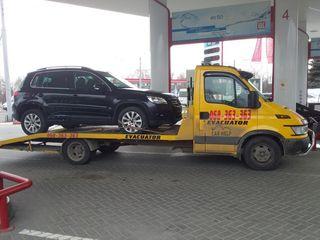 Tractari auto, evacuator Chisinau-Moldova