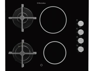 Варочная панель electrolux ege6172nok  комбинированная/ черный