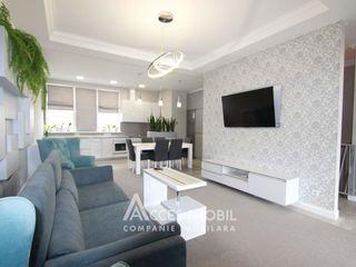 Penthouse în 2 nivele! Terasă 70 m2! Design individual! Zonă de parc!