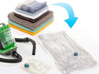 Вакуумные пакеты для одежды и одеял от 19лей