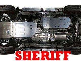 Scut motor Sheriff  защита картера  защита багажника Unidec, защита  автомобиля