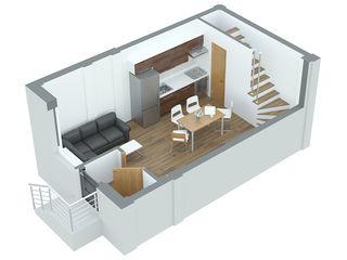 Apartament cu 1 camera 45,3 m2 Durlesti la pret promotional 490euro/m2
