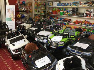 Mașini și motociclete electrice,jucarii pentru copii.