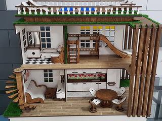Кукольный домик model-B. Handmade!