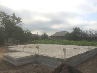 Строительство домов с фундамента