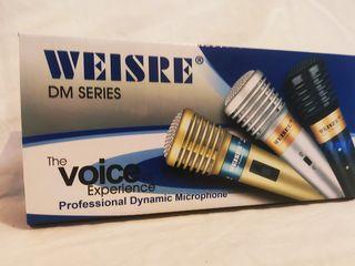 Microfon cu fir profesional m-509 ,radiomicrofon vhf weisre dm-3309a +livrare