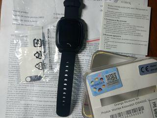 Детские часы- телефон Wonlex GW400S для наблюдения и связи с вашим ребенком. Новые.