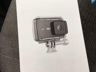 Экшн-камера YI 4K+ plus /60fps Plus International Version Black + Waterproof Case KIT Action Camera