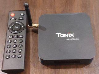 Tanix TX6 ТВ Box Allwinner H6 4 ГБ DDR3 32 ГБ EMMC 2,4 ГГц 5 ГГц WI-FI BT4.1