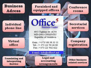 Adresa Juridica pentru companie la cel mai bun pret