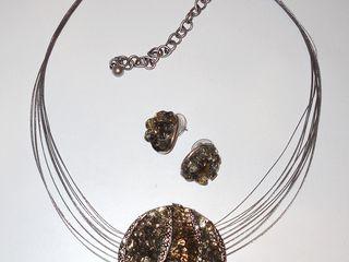 Украшения из полудрагоценных камней (эксклюзив)