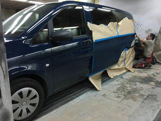 Кузовные работы и покраска автомобилей в Кишиневе (Молдова)