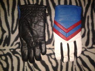 Перчатки кожаные юношеские  100 лей