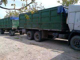Камаз 53212 cu remorca