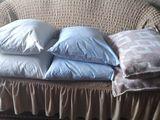 подушки пух, перо размер 50 на 70см и 50 на60
