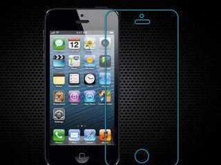 Sticla protectoare iPhone SE / 5 / 5S. Livrarea gratuita aceeasi zi!